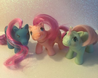 Vintage My Little Pony lot