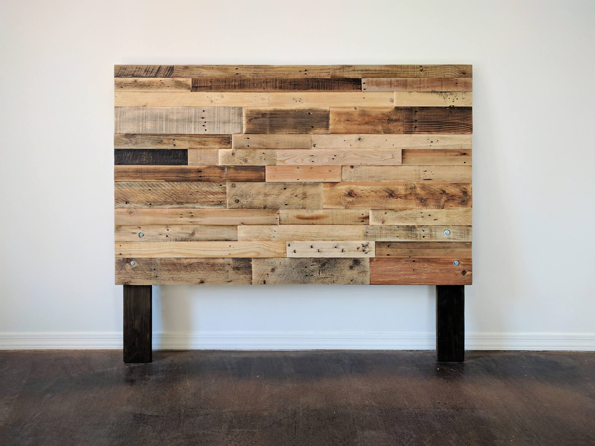 Reclaimed Wood Headboard Head Board King Queen Full Twin Cali
