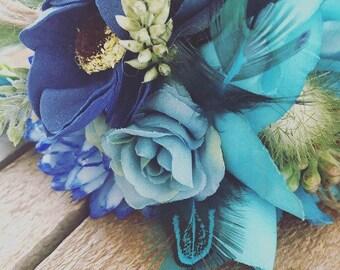 Artificial flower Bridesmaid Halo
