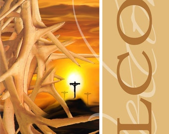 For God so Loved the World  / Welcome Church Banner (G2315-3)