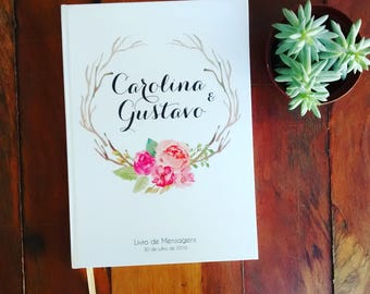 Book of wedding Floral messages