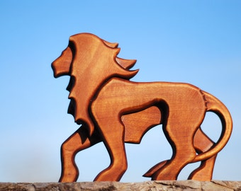 Gifts|for|him wooden statues lion Game of thrones The lion king husband gifts for boyfriend wood sculpture handcarved wood figurines animals