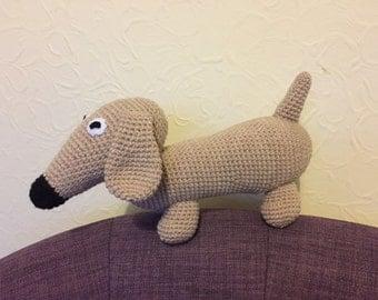 Crochet Daschund Sausage Dog