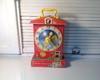 Vintage Fisher price clockwise 1968