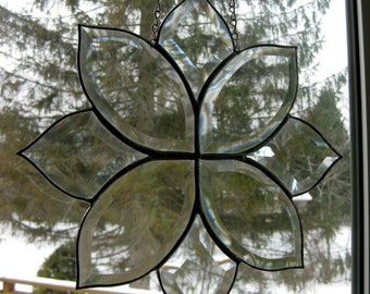 Stained Glass Bevel Cluster