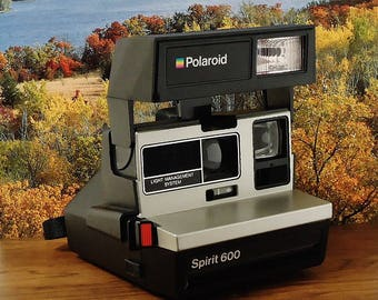 Vintage POLAROID SPIRIT 600 Light Management System (LMS) Land Instant Print Film Camera, Circa: 1980's, Fantastic!