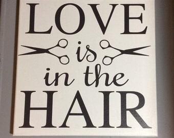 Salon Wall Art hair salon art | etsy