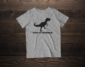 T-rex Toddler Tee * Toddler Shirt * Custom kids Shirt * Gifts for kids * Personalized * Boys Shirt