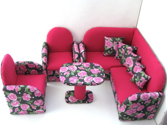 items similar to upholstered doll furniture 12 inch doll