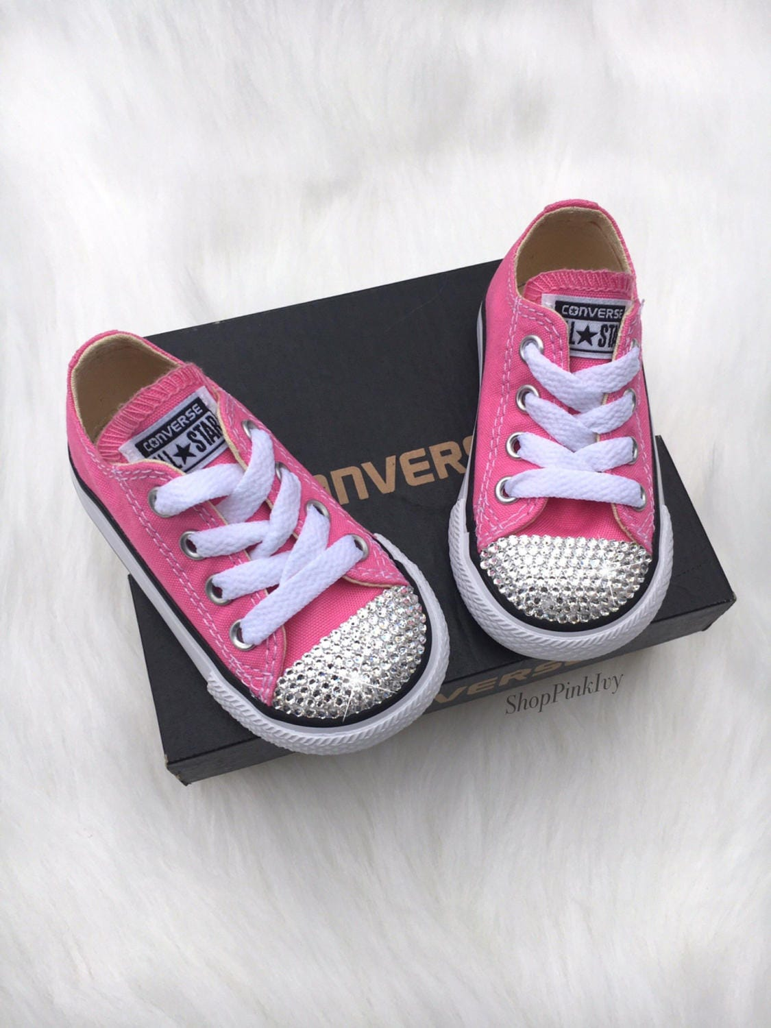Baby Girls Toddler Converse Chuck Taylor Ox Casual Shoes