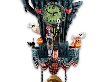 Tim Burton's The Nightmare Before Christmas Cuckoo Clock by Bradford Exchange / Disney