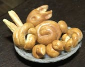 Basket of Easter bread fo...
