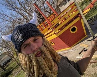 Viking Hat and Beard