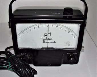 Cool Industrial Steampunk Decor ANALYTICAL MEASUREMENTS MODEL 707