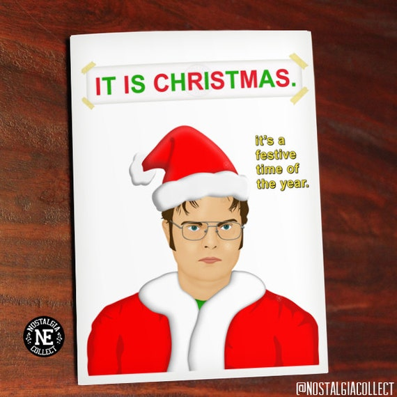 Items similar to It Is Christmas Funny Christmas Card