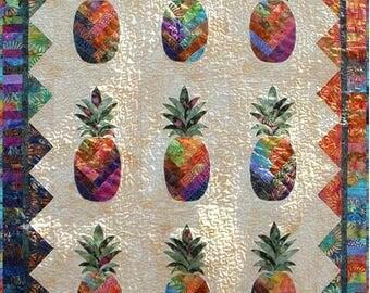 Sunshine Pineapple quilt pattern