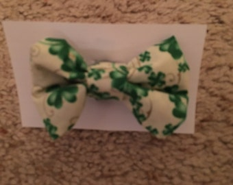 St. Patrick's bow tie for pet dog, cat, or rabbit