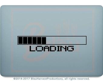 Game Loading Bar - Laptop MacBook / Wall Decal Sticker Vinyl Art