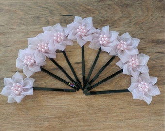 Posh Princess Flower Hair Accessories 2pcs