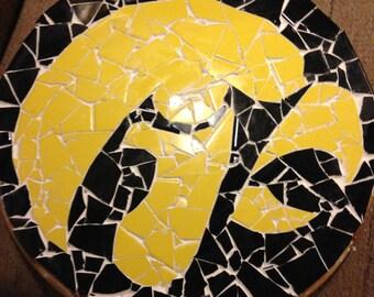Iowa Hawkeyes Ceramic Tile Table Top