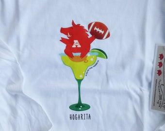 Razorback Hogarita T-Shirt Long-Sleeved Missy Fit
