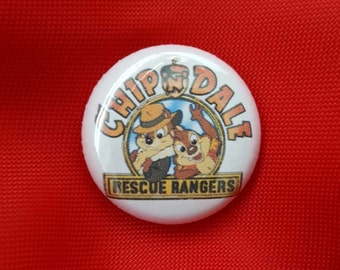 "Chip n Dale Rescue Rangers 1"" Pin"