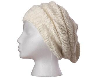 Wool Hat, Vera Hat, beanie, toque, knit hat, cap, hand knit, wool