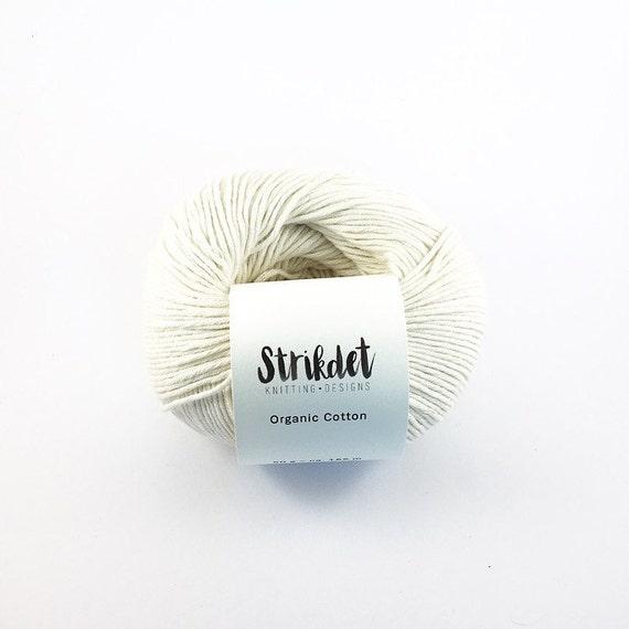 STRIKDET Organic Cotton Off White / Økologisk Bomuld - Naturhvid