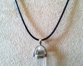 Chakra necklace, Clear