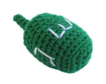 Crochet Dreidel, Amigurumi Dreidel, Hanukkah toy