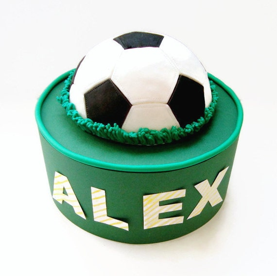 half and football wedding cake items similar to soccer fondant edible 3d cake topper 15038