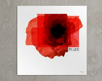 Peace. Remembrance Limited Edition Print