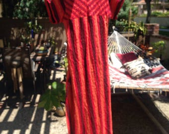 VINTAGE GAUZE INDIAN DRESs
