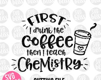 Chemistry Teacher SVG | Cutting File for Cricut or Silhouette| svg eps dxf png|