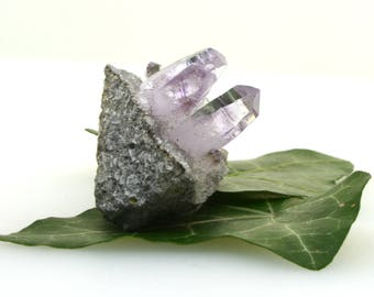 Vera Cruz amethyst cluster, small amethyst point