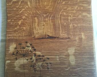 Handmade oak cheese/serving board