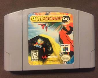 Wipeout 64 Vintage Nintendo 64 Game. N64!