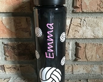 Personalized Volleyball BPA-Free Water Bottle/Tumbler--Great Volleyball Gift--Volleyball Team Gifts