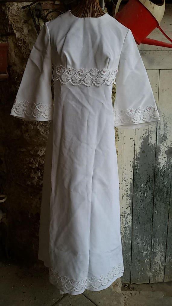 Dress wedding years 60 french vintage wedding dress for French vintage wedding dresses