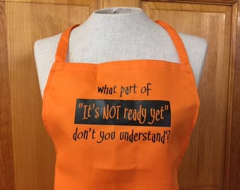 Cool Apron!!  2 Colors Available!