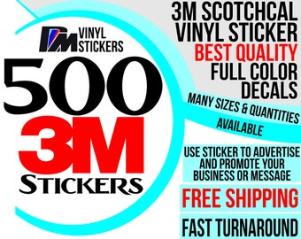 Promotional Stickers Etsy - Promotional custom vinyl stickers business