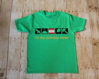 Birthday Minecraft Unisex T-shirt