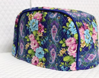 Rose Garden Quilted 2 Slice Toaster Cover