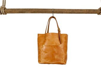 Ashlee Tote - Russet // Leather Tote Bag // Leather purse // Leather Handbag
