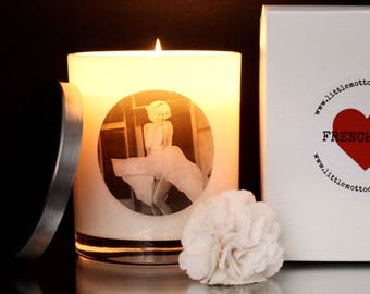 Marilyn Monroe 'Icon Collection' Soy Candle - LARGE