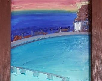 Bronte Ocean Baths, Dawn.