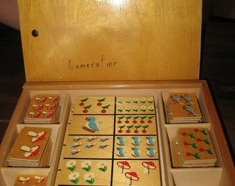 Count J. BLOKLAND Holland from the 60's wooden old game