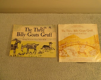 The Three Billy Goats Gruff Book And Record