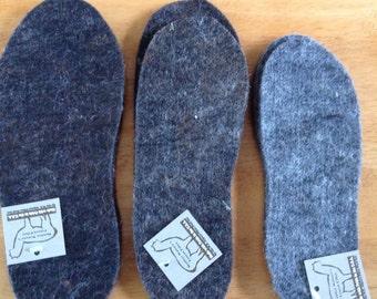 Felted Alpaca Fiber Boot Liners