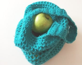 Turquoise Market Tote